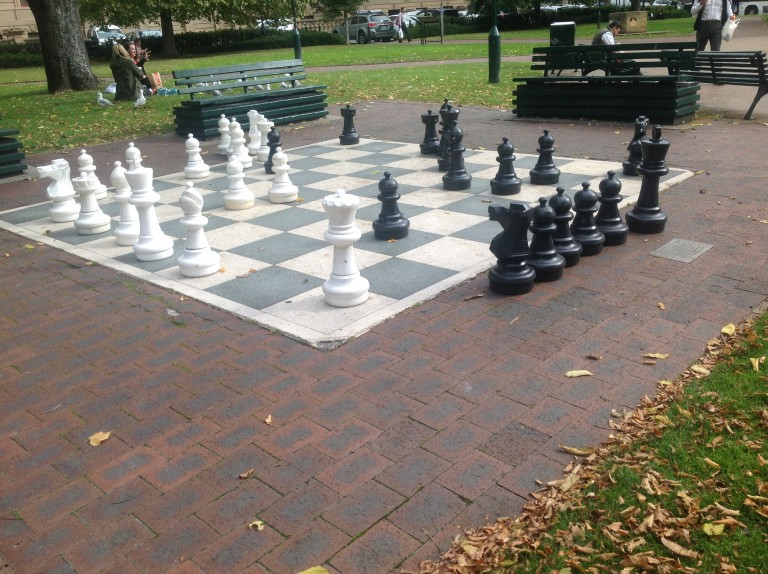 Chess at the Ellsworth Library
