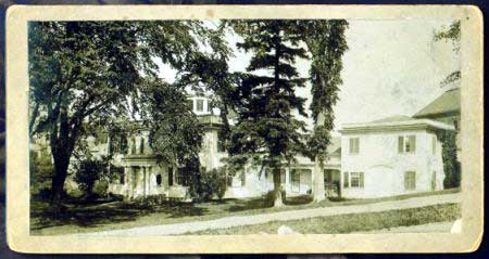 Old photo of the Ellsworth Library
