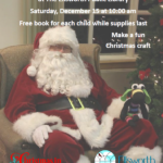 Santa storytime at the library
