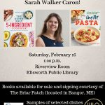 Cookbook author Sarah Walker Caron