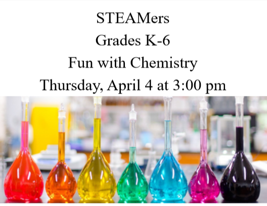 STEAMers at Ellsworth Public Library