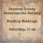 Hancock County Genealogical Society